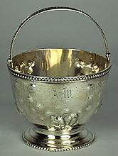Coin Silver Footed Basket