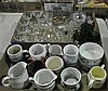 Two Bxs Glasses, Stemware, Cups and Creamers