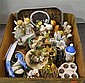 Box of Decorative Ceramic Items
