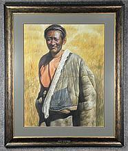 Z.L. Feng Photo Realist Watercolor Portrait
