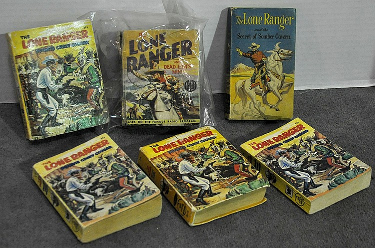 Bx Six Big Little Lone Ranger Books