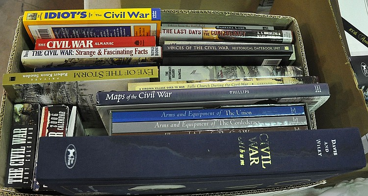 Bx Books on Civil War