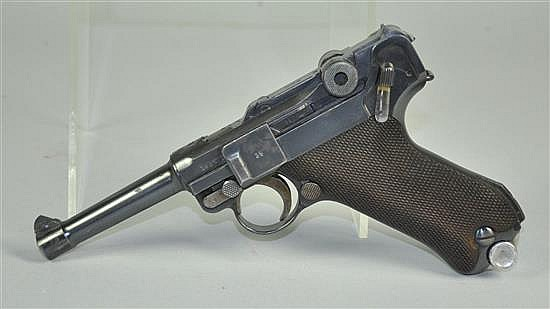 Mauser 5/42 1937 Luger Pistol Registration required.