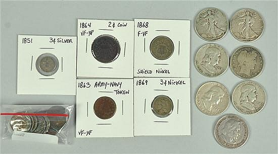Collector Lot with Silver
