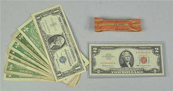 Washington Quarters, Star Note, & Silver Certificates
