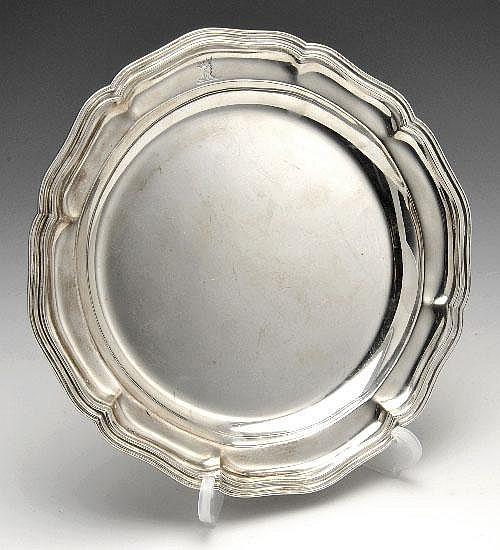Edwardian silver plate.