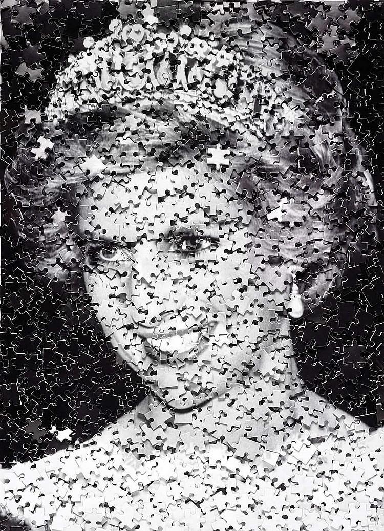 Vik MUNIZ (born in 1961)-Diana (Gordian Puzzle), 2008