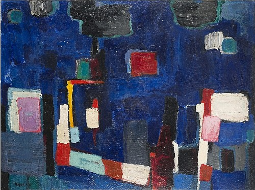 Abstract composition, 1960