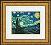 STARRY NIGHT BY VINCENT VAN GOGH, Vincent van Gogh, $125