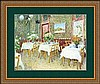 INTERIOR OF A RESTAURANT BY VINCENT VAN GOGH, Vincent van Gogh, $400