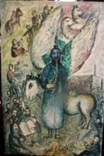 Oil on Canvas by Marc Chagall