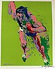 OLYMPIC RUNNER BY LEROY NEIMAN