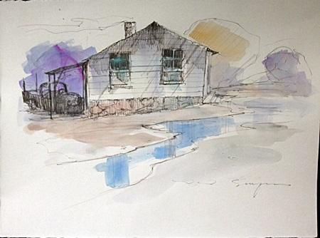 Original Water Color by Schofield