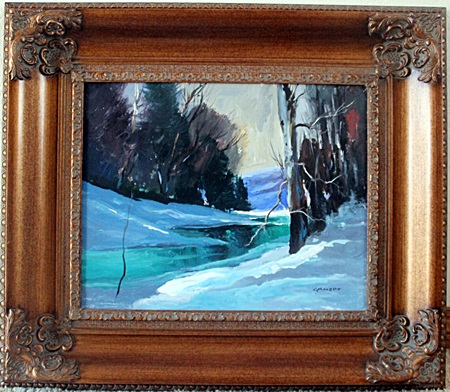 Original Oil on Canvas By Emille Gruppe