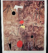 Out of the Book, Lithograph By Joan Miro