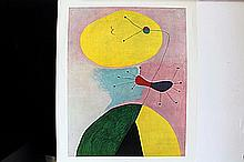 1938 Serigraph by Joan Miro. (N)