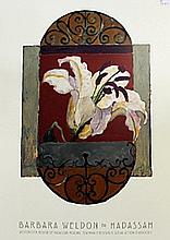 Barbara Weldon For Hadassah Flower Art #1 ( N)