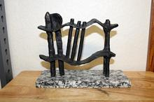 ORIGINAL BRONZE SCULPTURE AFTER ARTIST ALBERTO GIACOMETTI