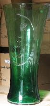 Gorgeous Green Turkey Crystal Vase