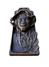 Bronze Tiffany Sculpture -Boy with Hat (N-185E)