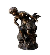 Bronze Sculpture -  Woman Sitting (N-202E)