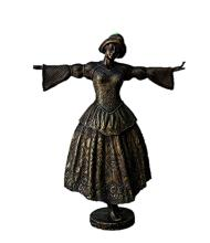 Bronze Sculpture -  Dancing Girl (N-209E)