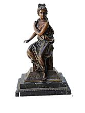 Bronze Sculpture -  Myth Greek Woman (N-214E)