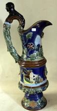 Antique Unsigned Beautiful Porcelane Vase.