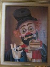 Original 1947 By Red Skelton-Transfer on Canvas