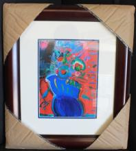 Lithograph By Peter Max.