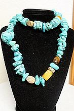 LADIES BEAUTIFUL TURQUOISE NECKLACE