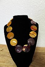 Amethyst and Tiger Eye Necklace