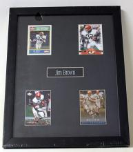 Jim Brown 4 Card Set HE5011