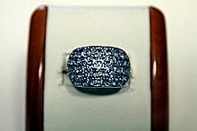 Unisex Fancy Tanzanite Ring