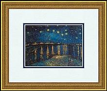 STARLIGHT OVER THE RHONE, 1888 BY VINCENT VAN GOGH