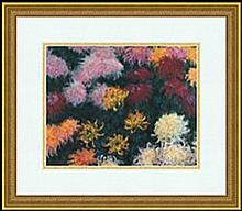CHRYSANTHEMUM, 1897 BY CLAUDE MONET