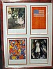 Framed 4-in-1 Lithographs