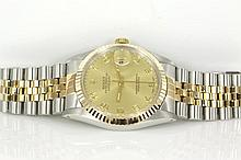 Rolex Datejust Mens Watch 16013