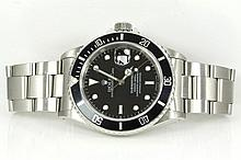 Rolex Submariner Mens Watch 16610