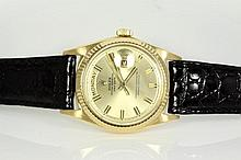Rolex Gold Day Date Mens Watch 1803