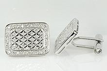 Diamond Cufflinks 1.15cts