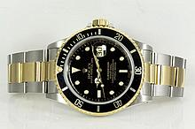 Rolex Submariner Mens Watch 16613