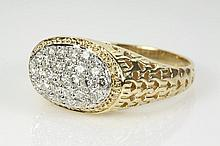 Diamond Mens Ring