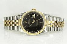 Rolex Datejust Mens Watch 16233