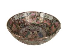 A Chinese Republic Period  Export  Rose Medallion Porcelain Bowl