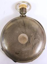 ELGIN NATIONAL WATCH CO. OPEN FACE POCKETWATCH.