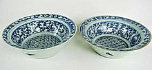 BH5 PAIR OF ANTIQUE CHINESE PORCELAIN BOWLS