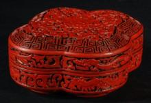 Lacquer Lidded Box