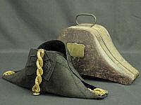 EARLY 19TH CENTURY NAVAL OFFICERS ''COCKED'' HAT,