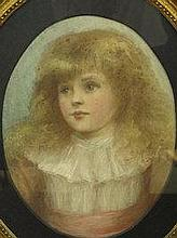 BRITISH SCHOOL ( LATE 19TH CENTURY), portrait of a